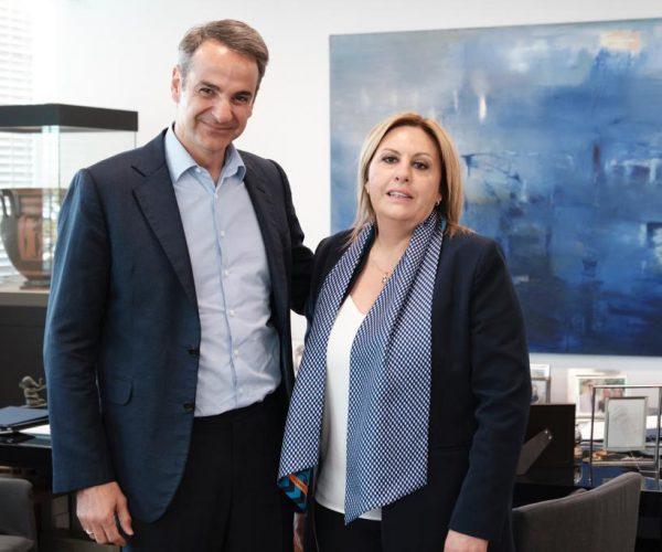 Μητσοτάκης Ντόρα Πάλλη υποψήφια Νότιου τομέα Β Αθηνών